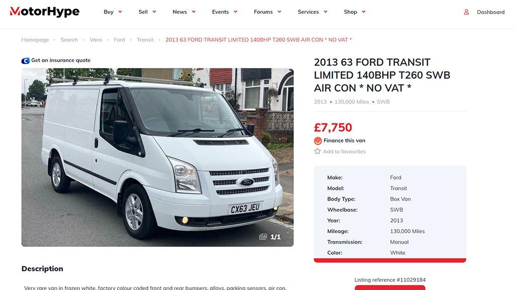 How to create a great van advert