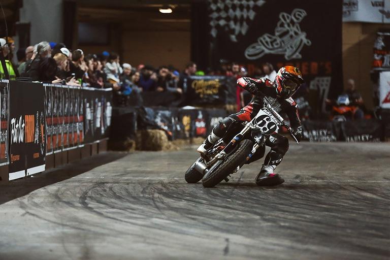 Motorbike event advertising