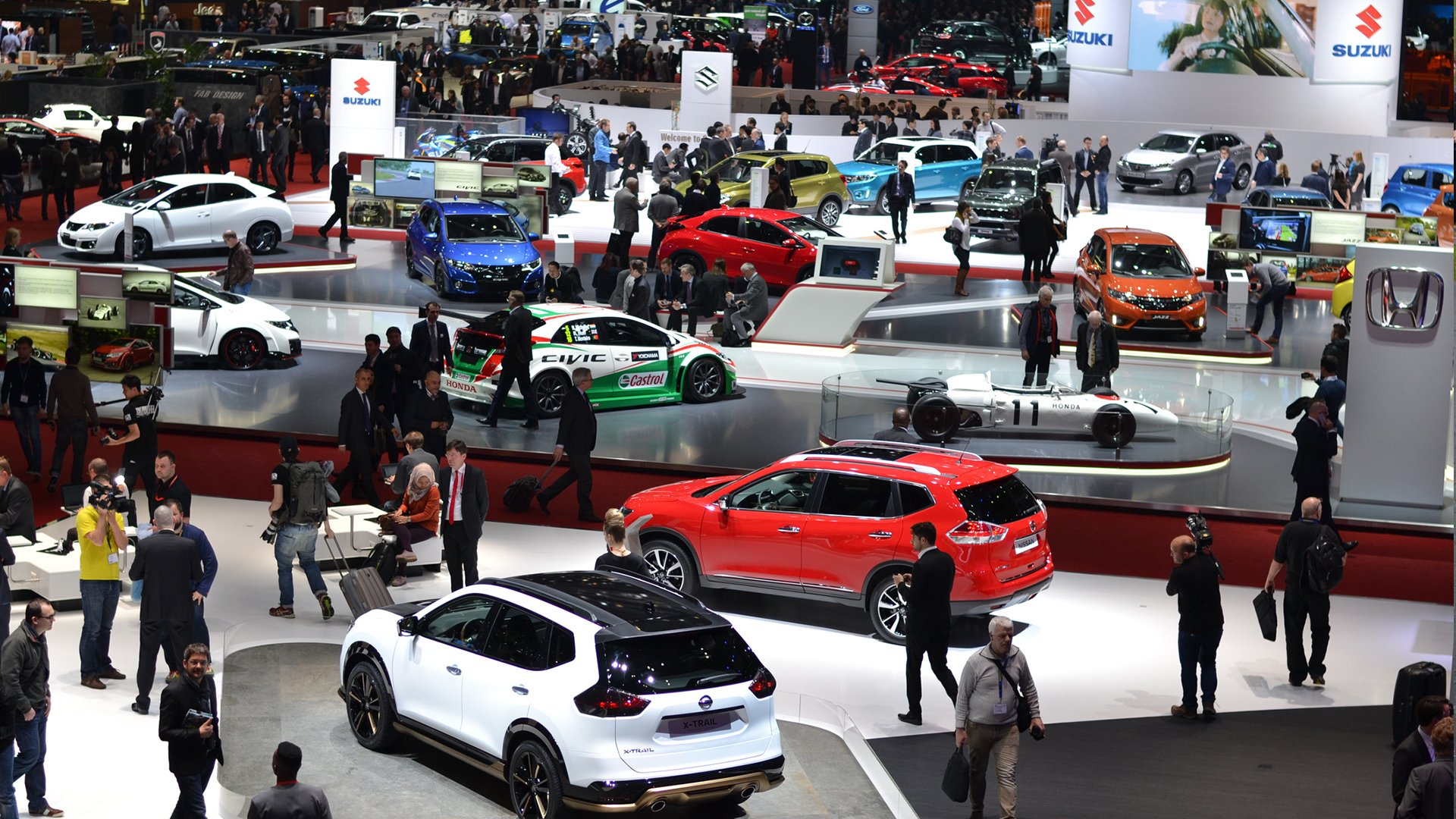 The best car shows in the UK